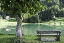 Free The Village Of Le Praz, Close To The Vanoise NP Royalty Free Stock Photos - 16247528
