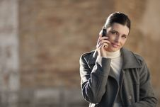 Free Young Woman On Mobile Phone Royalty Free Stock Images - 16247709