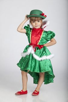 Free Beautiful Little Girl On Saint Patrick S Day Royalty Free Stock Photography - 16248927