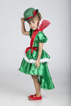 Free Beautiful Little Girl On Saint Patrick S Day Royalty Free Stock Photo - 16248985