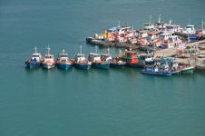 Free Fishing Port ,thailand. Royalty Free Stock Images - 16249389