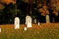 Free Fall Graveyard Stock Images - 16254714