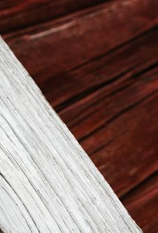 Wooden Plank Bias And Closely Royalty Free Stock Images