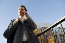 Free Young Woman On The Mobile Phone Royalty Free Stock Image - 16250306
