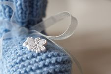Free Baby S Bootee Royalty Free Stock Image - 16250626