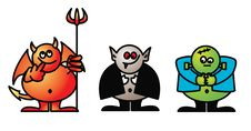 Free Goofy Goblins 1 Stock Photos - 16250763