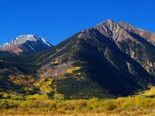 Free Colorado Mountains Autumn Stock Photo - 16251700