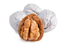Free Silver Walnuts Stock Photos - 16252673