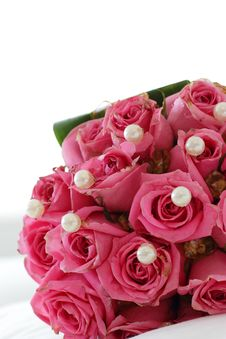 Free Bouquet Of Pink Roses Royalty Free Stock Images - 16252969