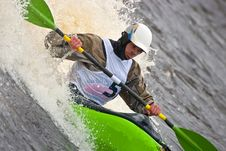 Free Freestyle On Whitewater Stock Photos - 16253033
