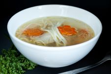 Free Chicken Noodle Soup Royalty Free Stock Images - 16253579