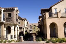Free Houses In A Neighborhood Stock Image - 16253621