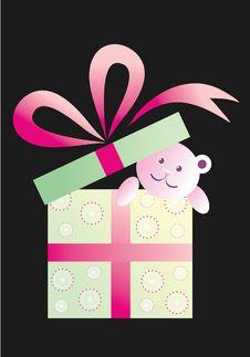 Free Teddy Box Royalty Free Stock Image - 16253836