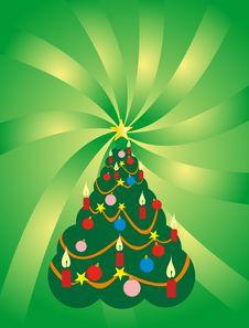 Free Christmas Tree Royalty Free Stock Photos - 16253848