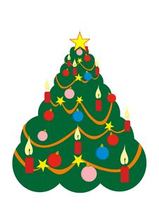 Free Christmas Tree Royalty Free Stock Images - 16253849