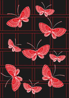 Free Red Butterfly Royalty Free Stock Photo - 16253885