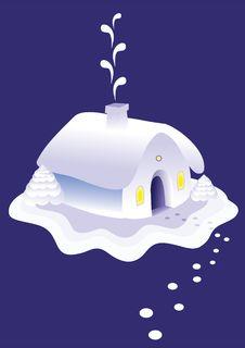 Free Winter House Stock Photos - 16253903