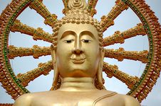 Free Golden Buddha In Thailand Stock Photo - 16254470