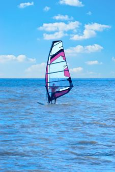 Free Windsurfing Royalty Free Stock Photo - 16254665