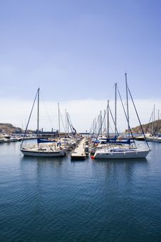 Free Yachts In A Marina. Stock Photos - 16254673