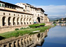 Free Arno River Reflections, Florence Stock Photography - 16254722