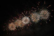 Free Celebratory Fireworks Royalty Free Stock Photography - 16255037