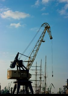 Free Crane Stock Images - 16255694