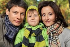 Free Parents And Son Royalty Free Stock Photography - 16256257