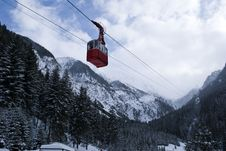 Free Chairlift To Mountains Stock Image - 16256431