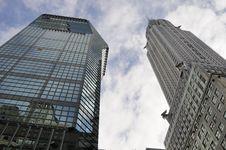 Free Two Skyscraper Buildings Stock Photo - 16257070