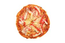 Free Crab Meat Pizza Stock Photo - 16258130