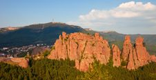 Free Belogradchik Rocks Panorama Stock Photo - 16259480