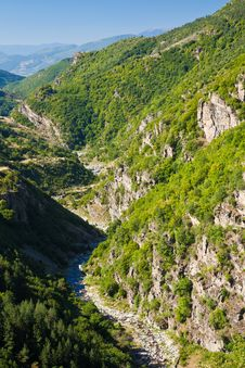 Free Rhodope River Valley Royalty Free Stock Photos - 16259618