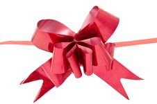 Free Red Bow Stock Photos - 16259753