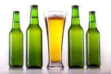 Chilled Beer Stock Image