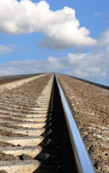 Free Railroad To Sky Stock Photography - 16259952