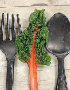 Free Fork Chard Spoon Royalty Free Stock Photos - 162501808