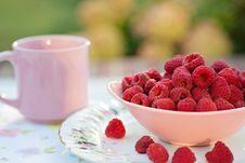 Free Raspberries In Breakfast Royalty Free Stock Image - 162502016