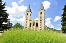 Free Saint James Church &x28;St. Jakov&x29; Medjugorje - Hotel Pansion Porta - Bosnia Herzegovina - Creative Commons By Gnuckx Royalty Free Stock Image - 162571766