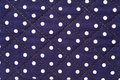 Free White Spots On Blue Cloth Stock Image - 16268621