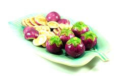 Free Thai Purple Eggplant Royalty Free Stock Photos - 16261358