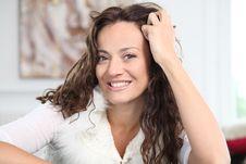 Free Woman Portrait Stock Images - 16261804