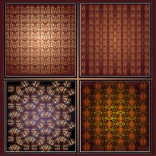 Royal Texture Collection Royalty Free Stock Image