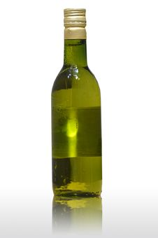Free White Wine Bottle Royalty Free Stock Photography - 16263067