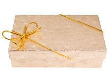Free Gift Boxes With Gold Ribbon Stock Photo - 16263340