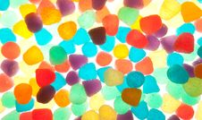 Colorful Jelly Texture Stock Photography