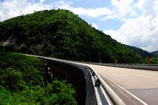 Free The Road Bridge In Thailand Royalty Free Stock Photography - 16263917