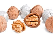 Free Silver Walnuts Stock Photography - 16264012
