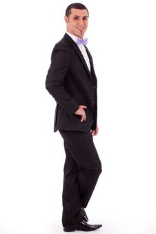 Free Young Stylish Business Man Standing Stock Photo - 16264150