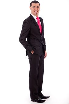 Free Stylish Business Man Posing To The Camera Royalty Free Stock Photography - 16264157